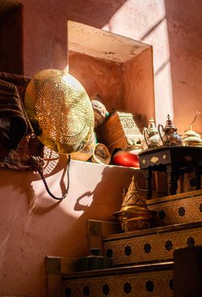 alladins cave marrakech gold shop
