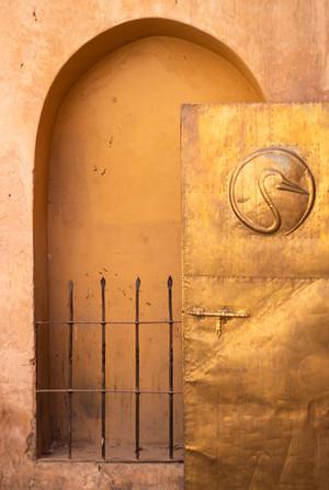 golden door marrakech archway
