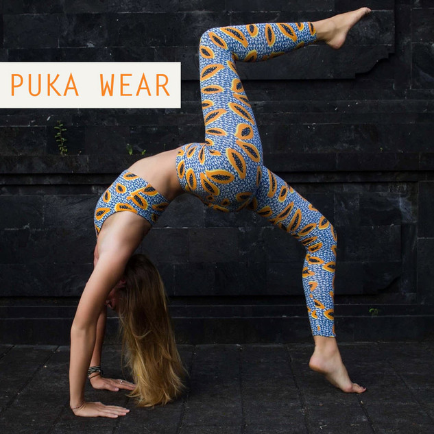 Under A Palm Tree Productions Client - Pukawear Activewear - Fashion Photoshoot Services