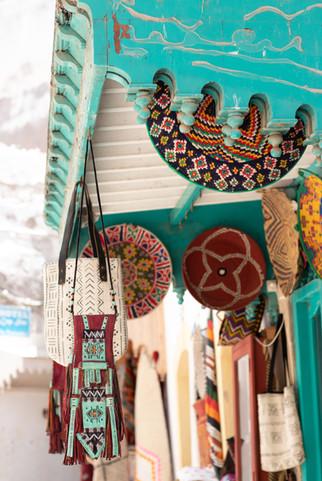 essaouria white town shop souk berber