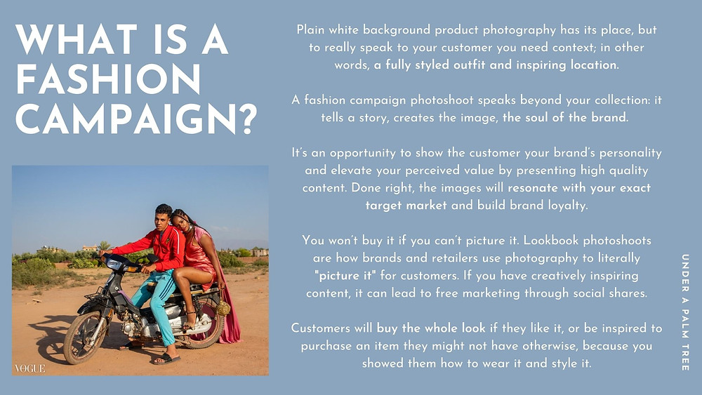 A FASHION DESIGNERS GUIDE: What is a fashion campaign?