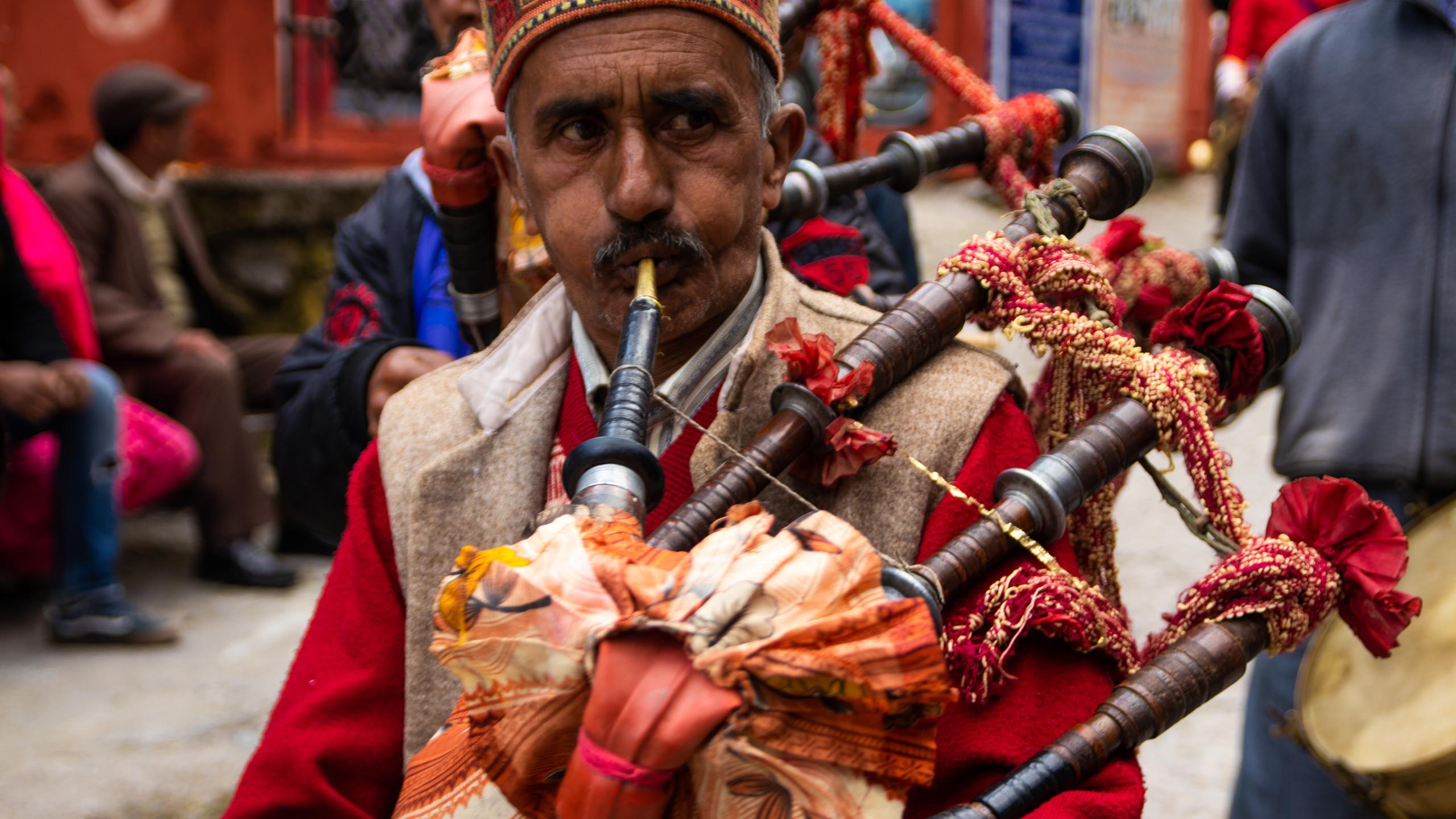Wedding celebrations in Upper Bhagsu
