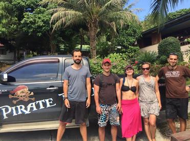 Scuba Diving team - Koh Phangan Pirate Divers