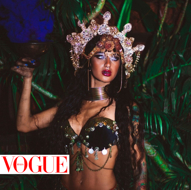 Under A Palm Tree Productions Client - Vogue Italia - Fashion Photography Services