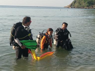 Beach Dive - Koh Ma Koh Phangan