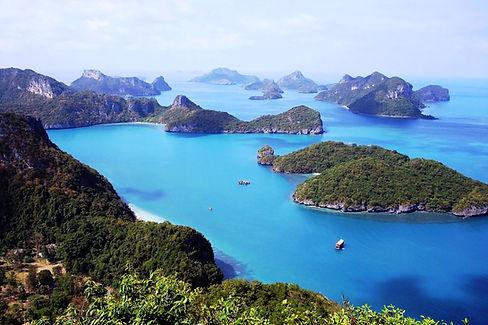 angthong marine park koh phangan diving