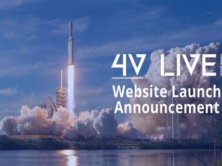 4V Live Website Launched!
