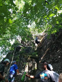 Rock wall pic