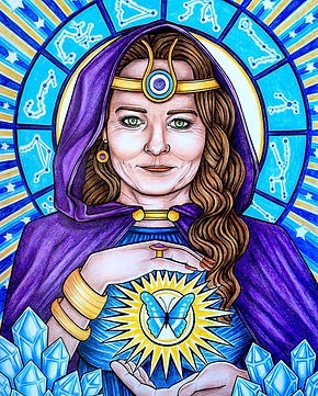 Goddess of transitional healing ~ claire