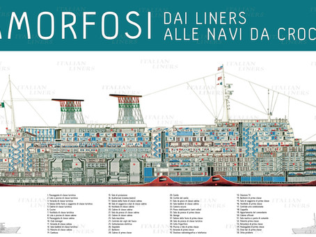 Digital Exhibitions at ItalianLiners.com