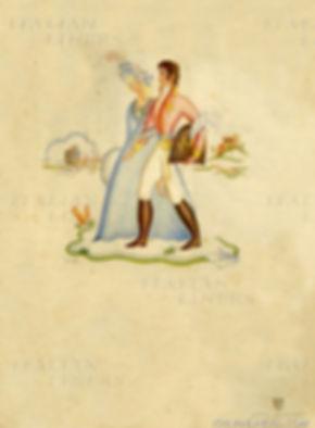 6CONTE ROSSO 1921 MENU 1937.08.11 LLOYD