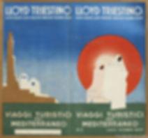 3LLOYD TRIESTINO PUB BRO 1932.07 MED CRU