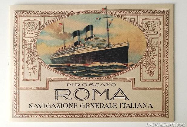 Piroscafo Roma, Navigazione Generale Italiana