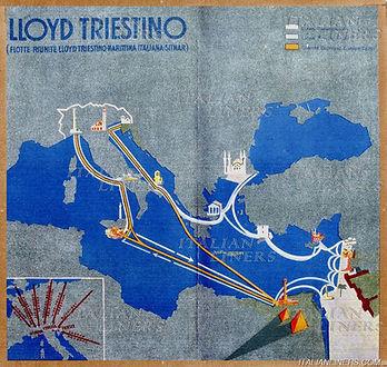 4LLOYD TRIESTINO PUB BRO 1932.07 MED CRU