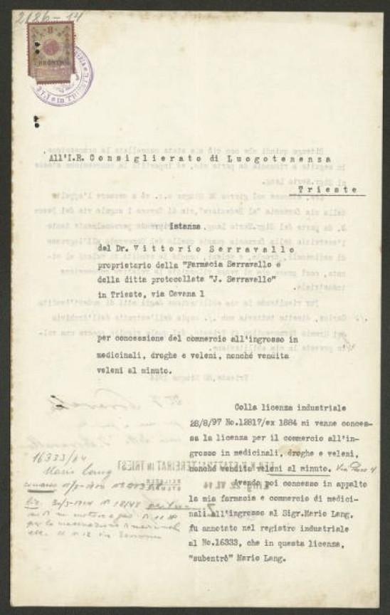Archivi di Stato - Documento Serravallo_