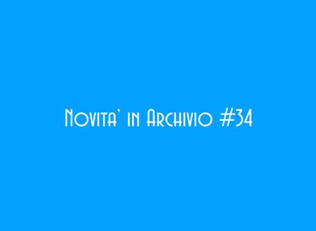 Novita' in Archivio #34