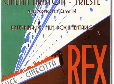 """""""Transatlantico Rex - Nave 296"""" Proiezione del Documentario"""