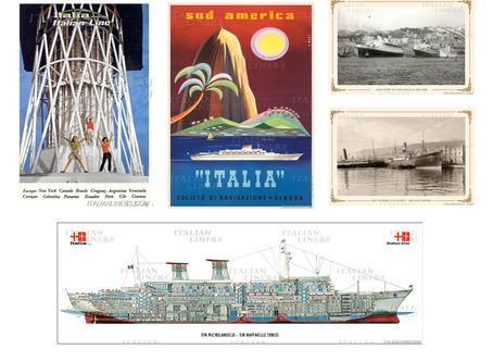 3 Nuovi Poster e 2 Immagini, Italian Liners Shop