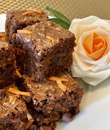 Carrot Brownies - Free Shipping