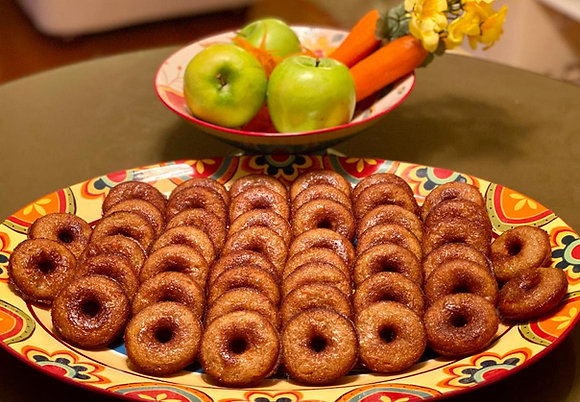 Petite Carrot-Apple Donuts