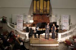 Jonathan Lakeland (piano) with Michael Mofidian and Olivia Warburton Holywell Music Room, Oxford Lie