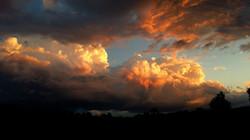 Cumulus clouds-Yarra Valley