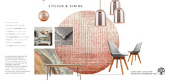 Kitchen & dining concept moodboard