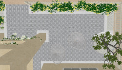 Babra Encaustic Schots - 3d perspective