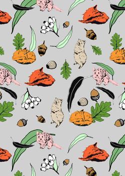 Woodland pattern 1
