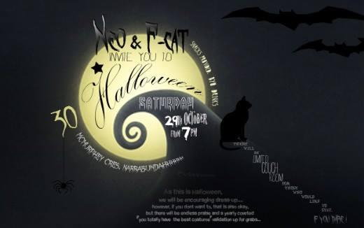 Halloween invitatio