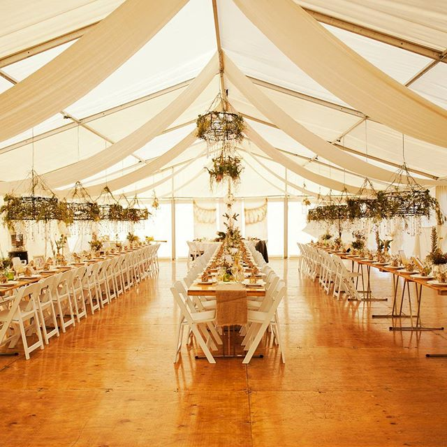 Another wedding flashback_ the marquee a