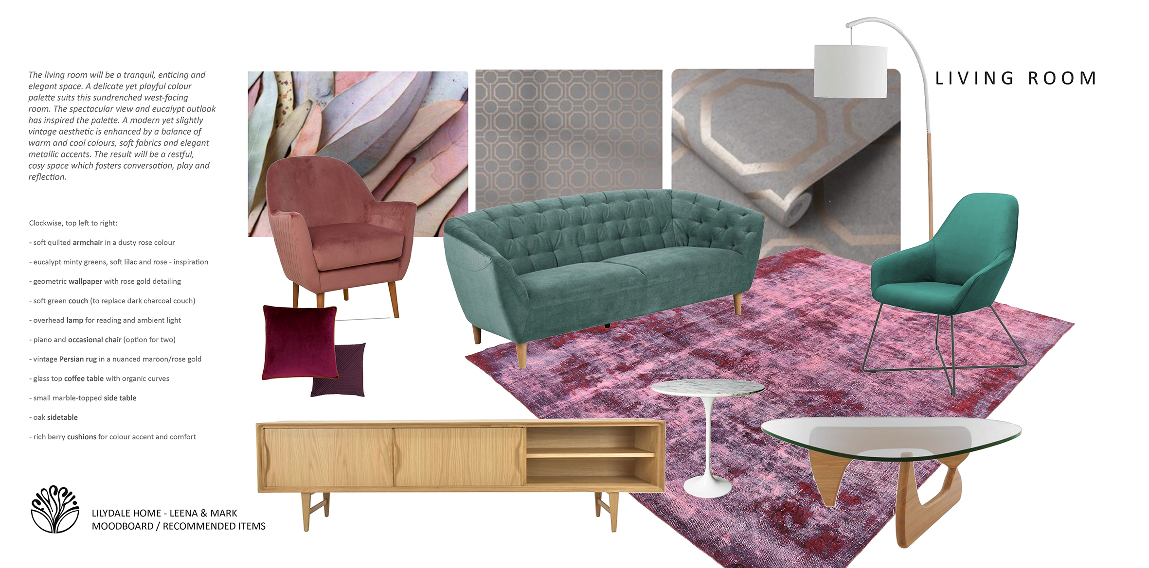 Living room concept - Lilydale