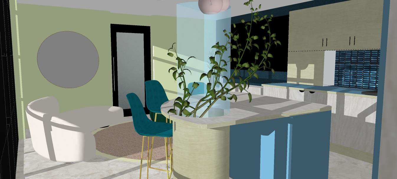 Harrison kitchen view3