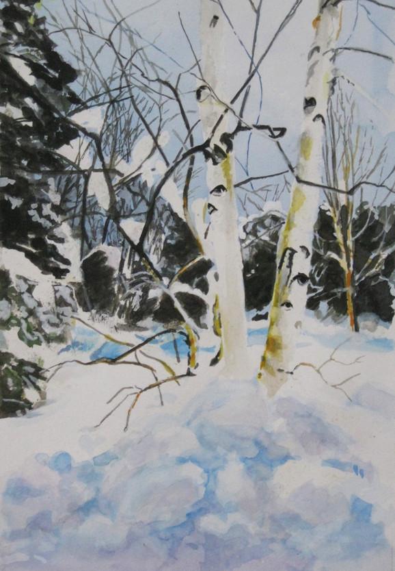 Paper Birches