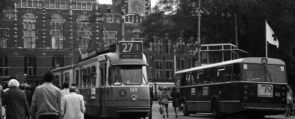 Elektrische tram 'GVBA 869'