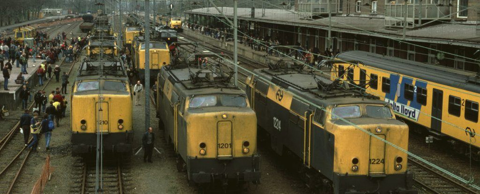 Elektrische locomotief NS 1201
