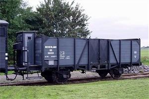 Open goederenwagen '59221'