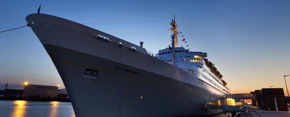 Passagiersschip 'SS Rotterdam'
