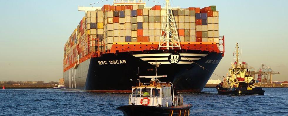 Containerschip 'MSC Oscar'