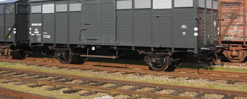 Groentenwagen 'NS 24591'