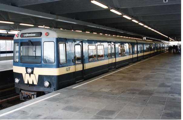 Metrorijtuig 'RET 5025'