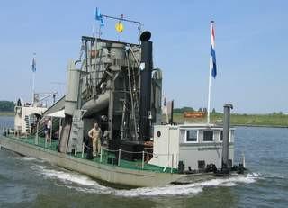 Stoombaggermolen 'Friesland'