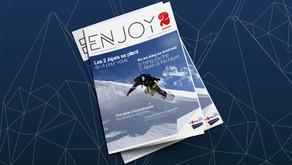 Mise en page d'un magazine - Les 2 Alpes