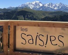 Le Balcon sur le Mont-Blanc aux Saisies