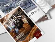 Brochure Hôtel & Résidence Les Vallées | Création Graphique | La Bresse , Vosges | 2019