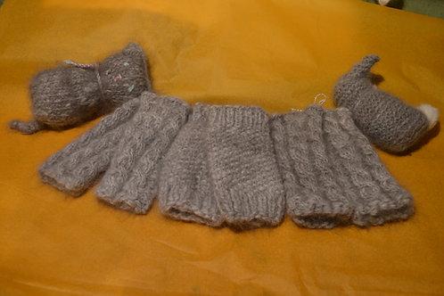 Miitli (Pulswärmer) aus Angorawolle