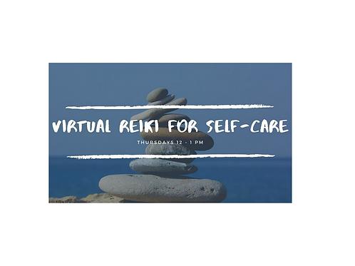 Weekly Reiki for Self-Care