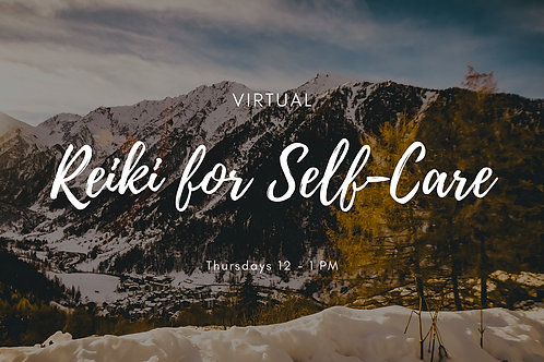 Weekly Reiki Group Self-Care