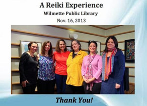 Reiki Community Event @ Wilmette Public Library