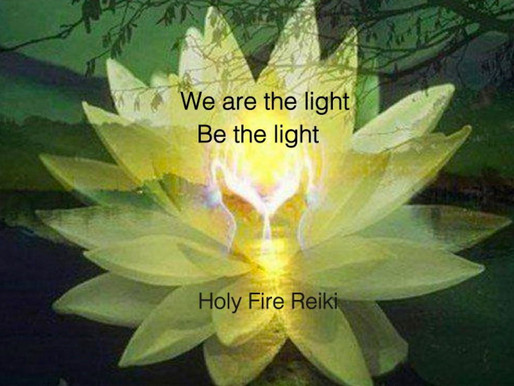 Holy Fire Reiki: Be The Light!